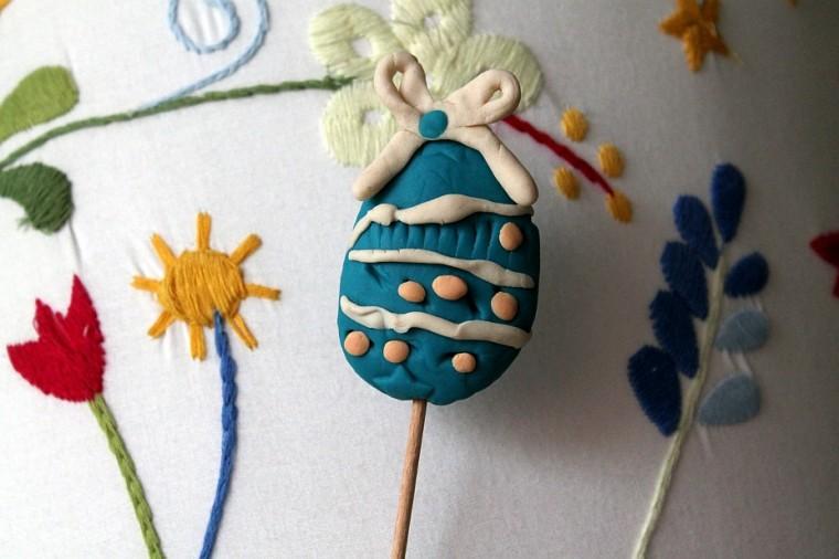 Velikonoční vajíčko zmodelíny