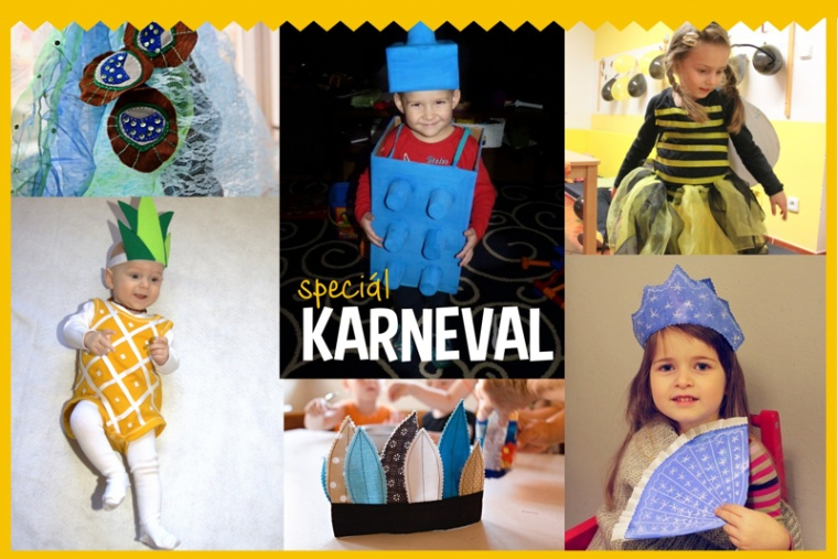 8f0e0aac8cab 10x DIY Karnevalové kostýmy - Testováno na dětech